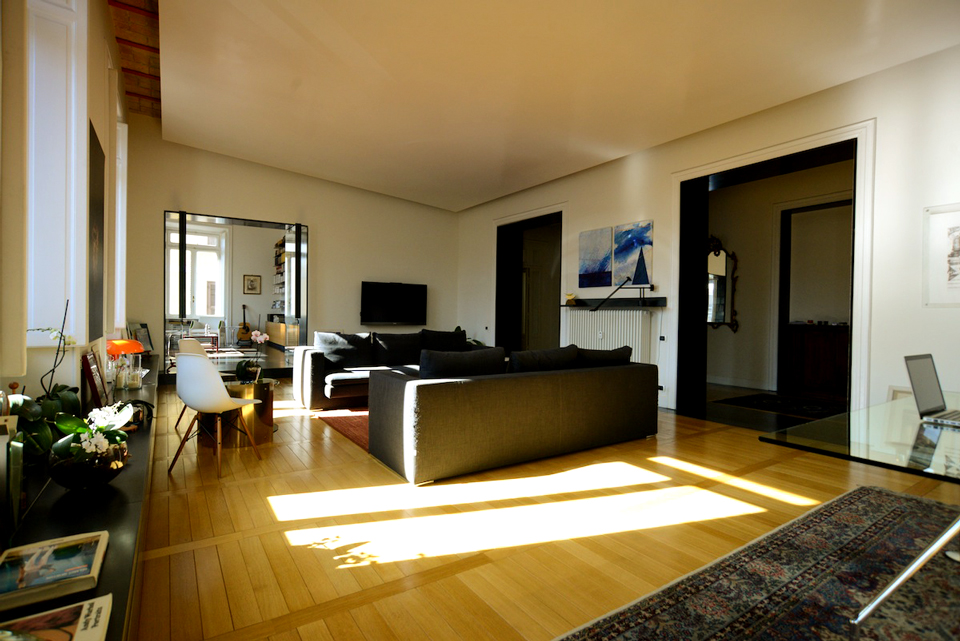 Gianni Ballarani Apartment designed by Bevilacqua Architects