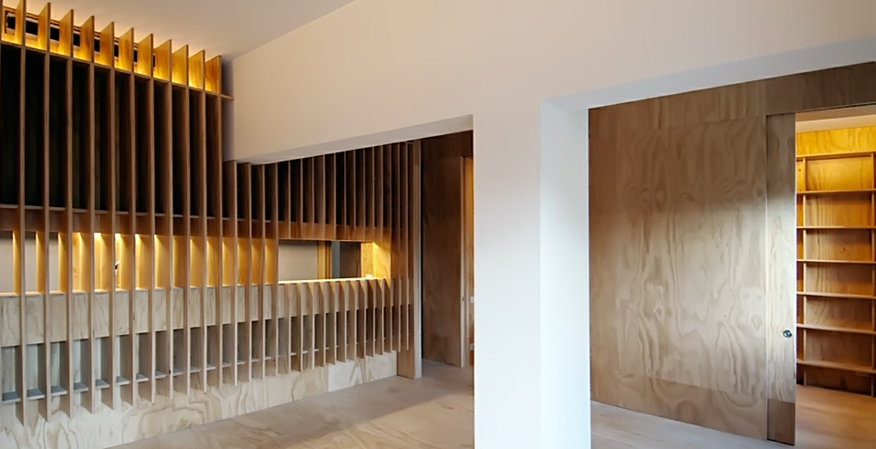 Bevilacqua Architects - Wood Apartment in Rome