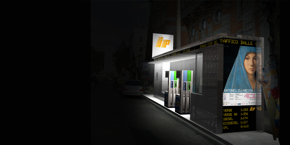 Bevilacqua Architects - Petrol Station for Rome Historic Center
