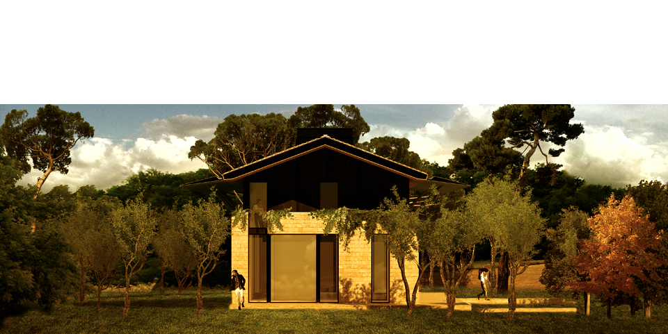 Bevilacqua Architects - Farmhouse on Monterosi Lake, Italy