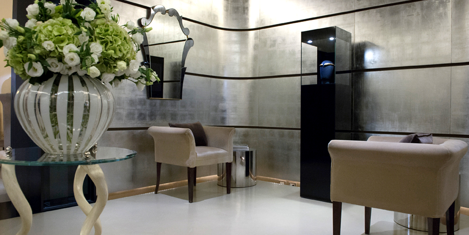 Bevilacqua Architects designed the jewellery display for Campana Brothers and Fabio Salini