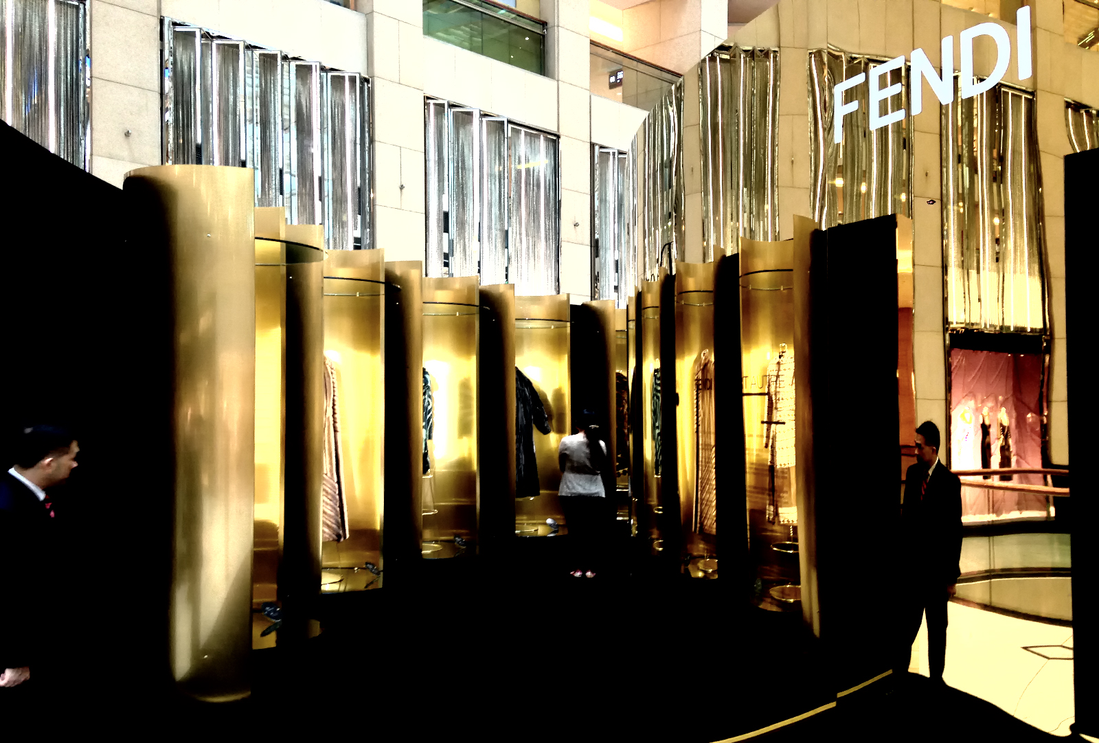 "Fendi ""Un Art Autre"" Exhibition at Landmark, Hong Kong"