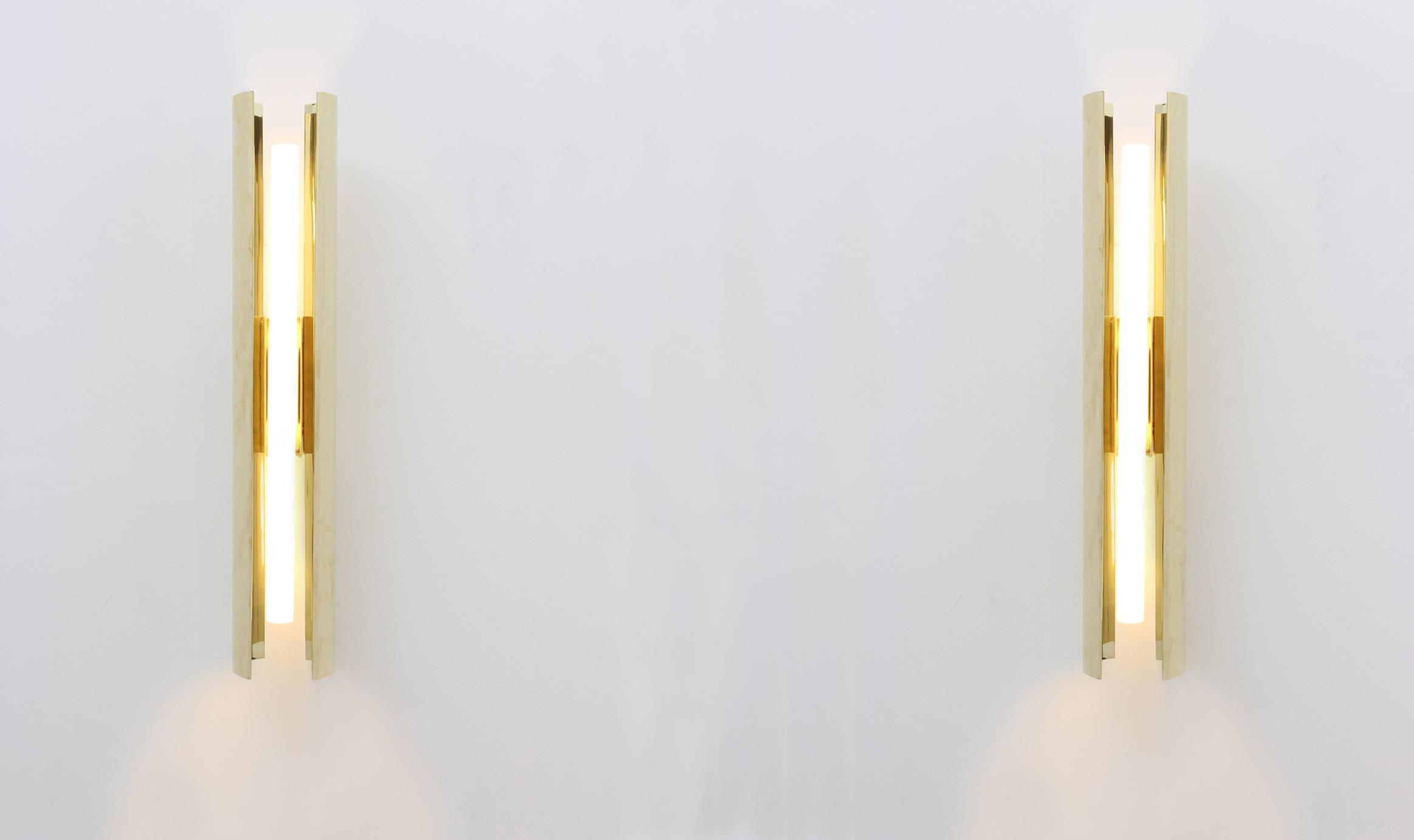 Bevilacqua Architects Scipioni Brass Wall Lamp
