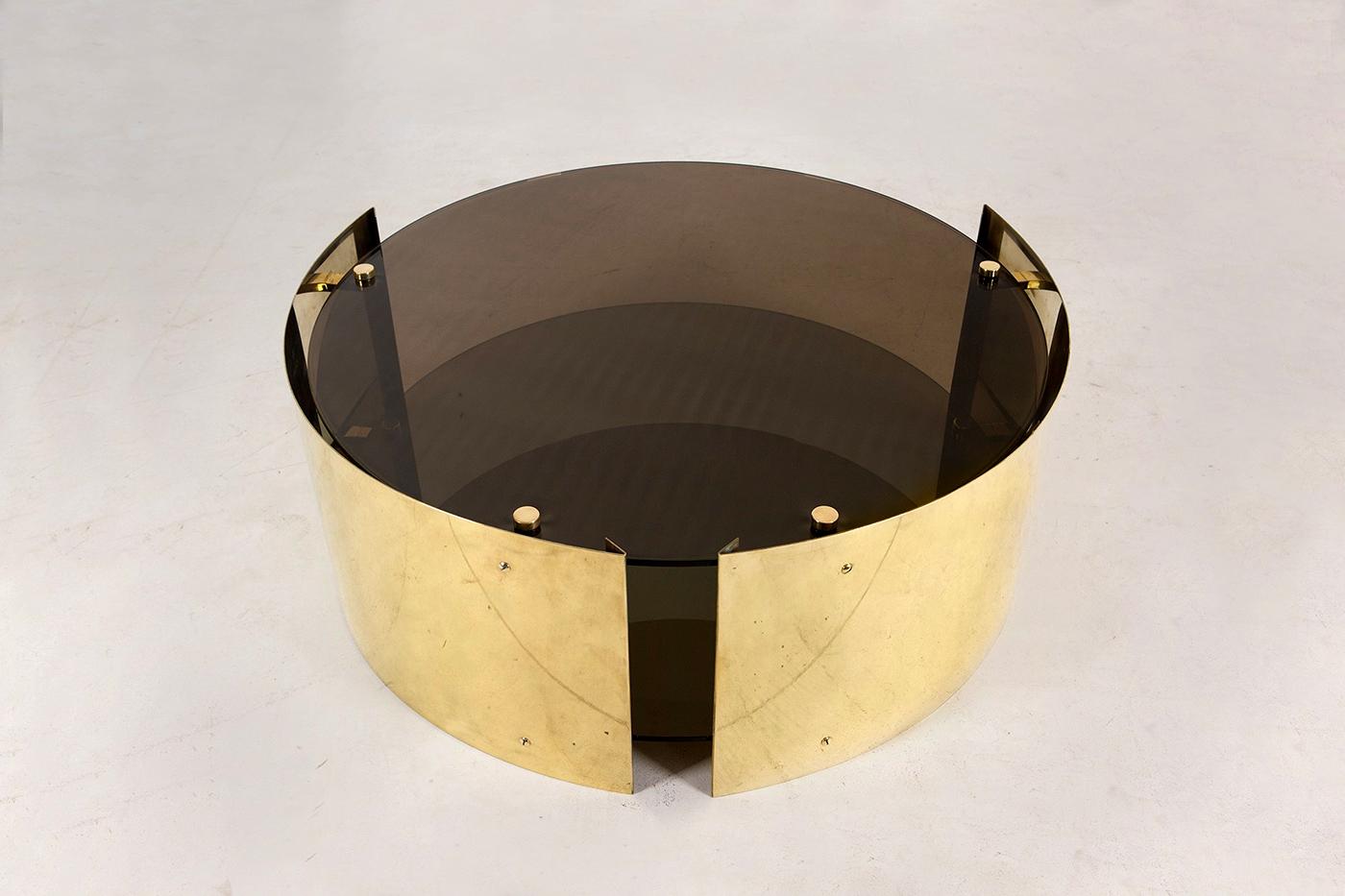 Bevilacqua Architects – Caio Brass Coffee Table