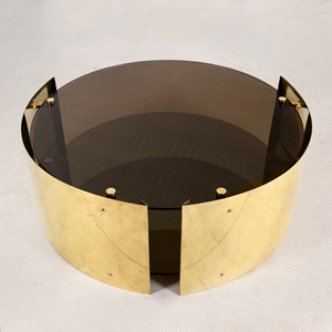 Marco Bevilacqua - Caio Brass Coffee Table for Gate 5 Gallery