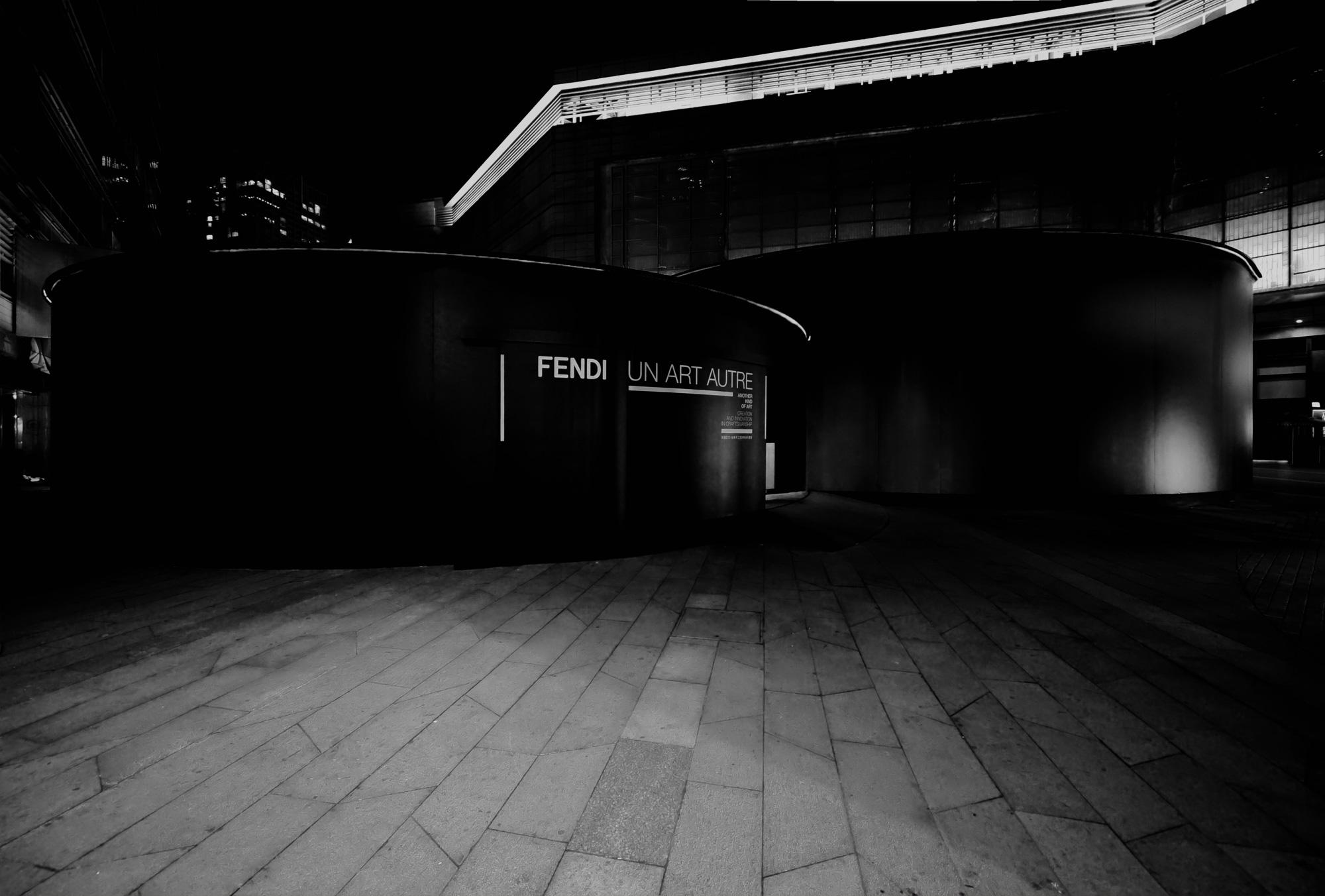 """Fendi """"Un Art Autre"""" by Bevilacqua Architects"""