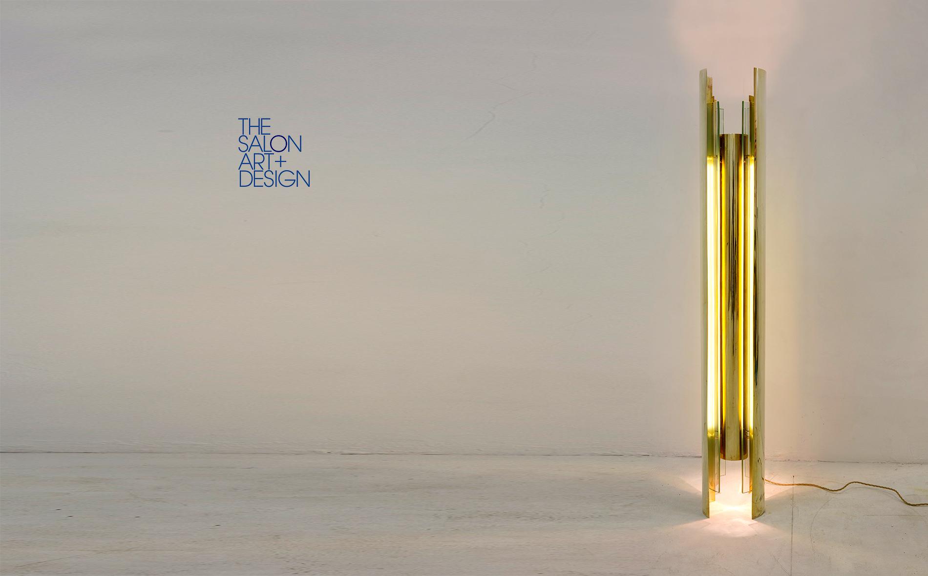 Marco Bevilacqua for Gate 5 Gallery – Tacito Floor Lamp in The Salone Art + Design, New York 2016