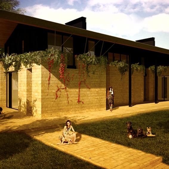 Bevilacqua Architects - Farmhouse on Monterosi Lake, Italy