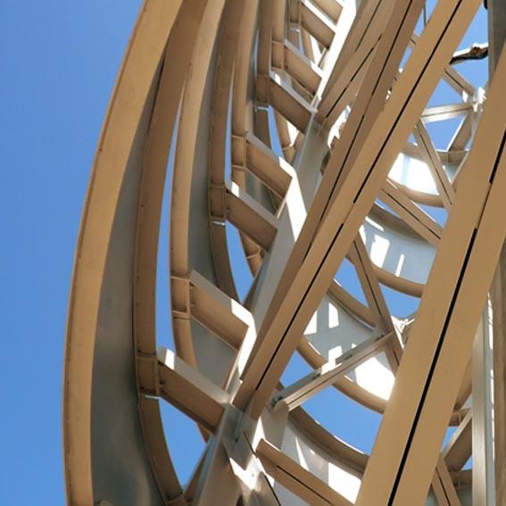 Telecom Tower designed by Bevilacqua Architects in l'Aquila.