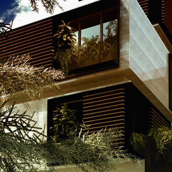 Bevilacqua Architects - Rationalist Villa