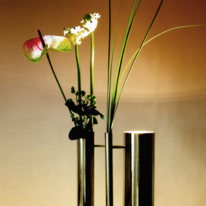Bevilacqua Architects - Flower Brass Lamp