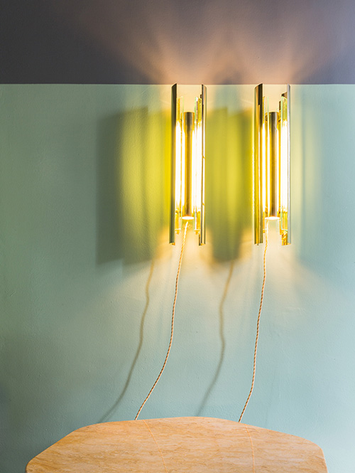 Tacito Wall Lamps designed by Marco Bevilacqua featured by Dimore Gallery during Life on Mars
