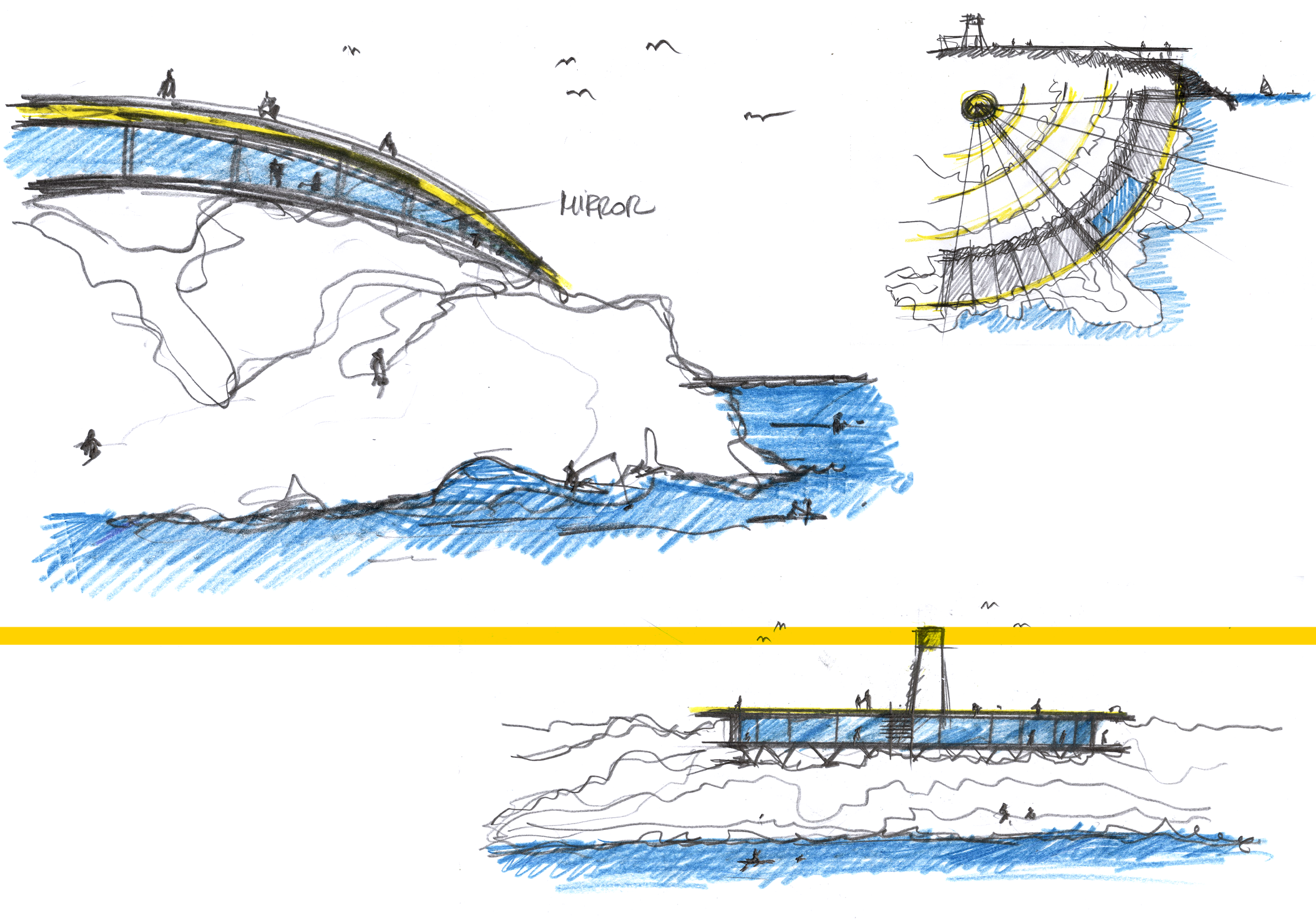 Bevilacqua Architects - The Circle Light - Yac Lighthouse Sea Hotel Competition