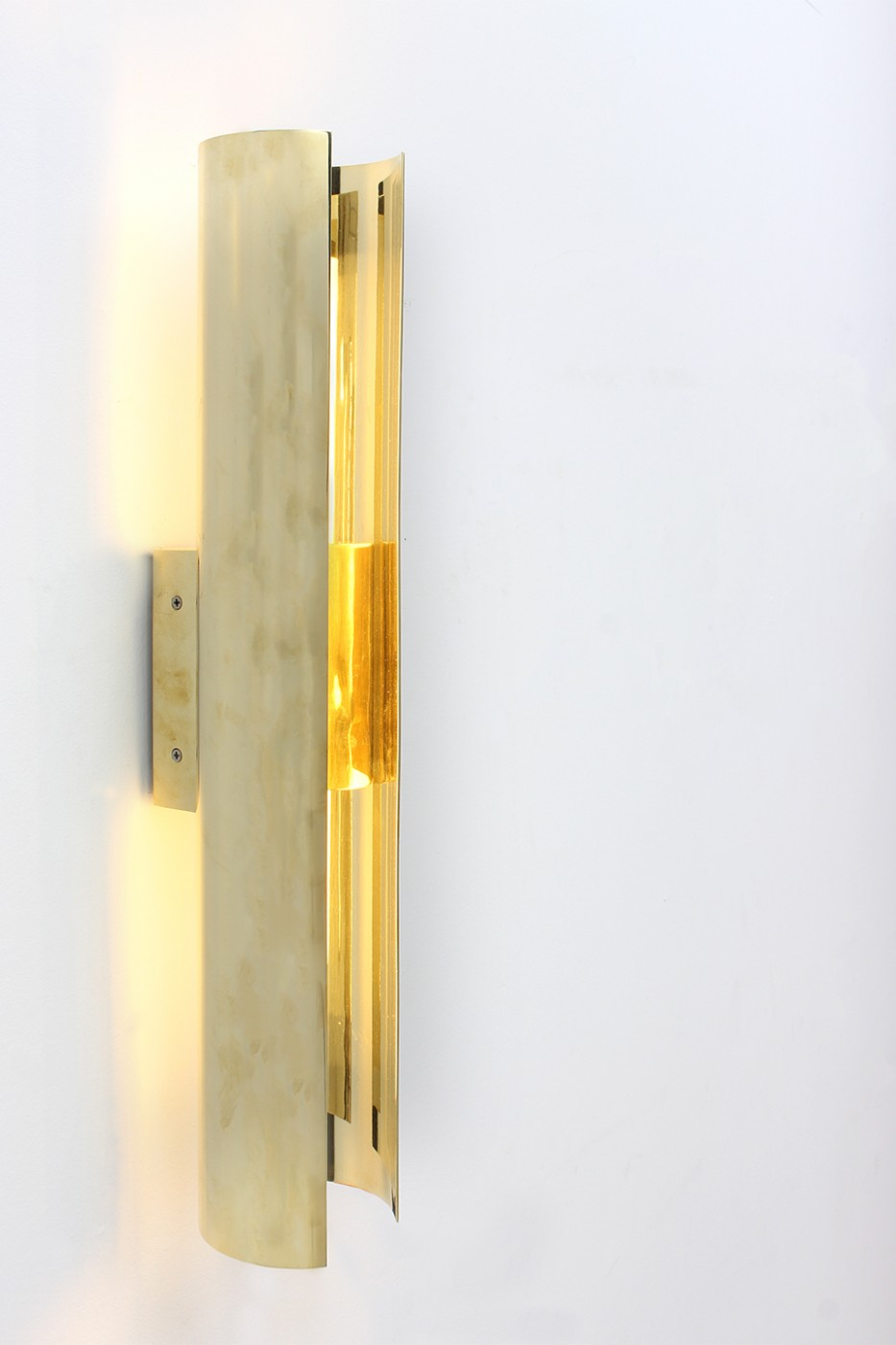 Marco Bevilacqua Scipioni Brass Applique for Gate 5 Gallery