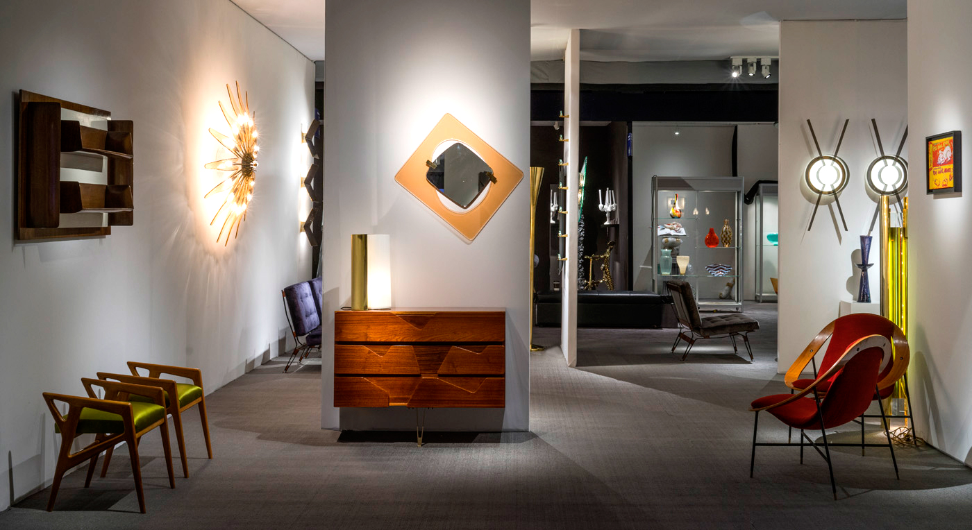 Tacito Floor Lamp by Marco Bevilacqua, featured by Gate5 Gallery during The Salon Art + Design 2016, New York
