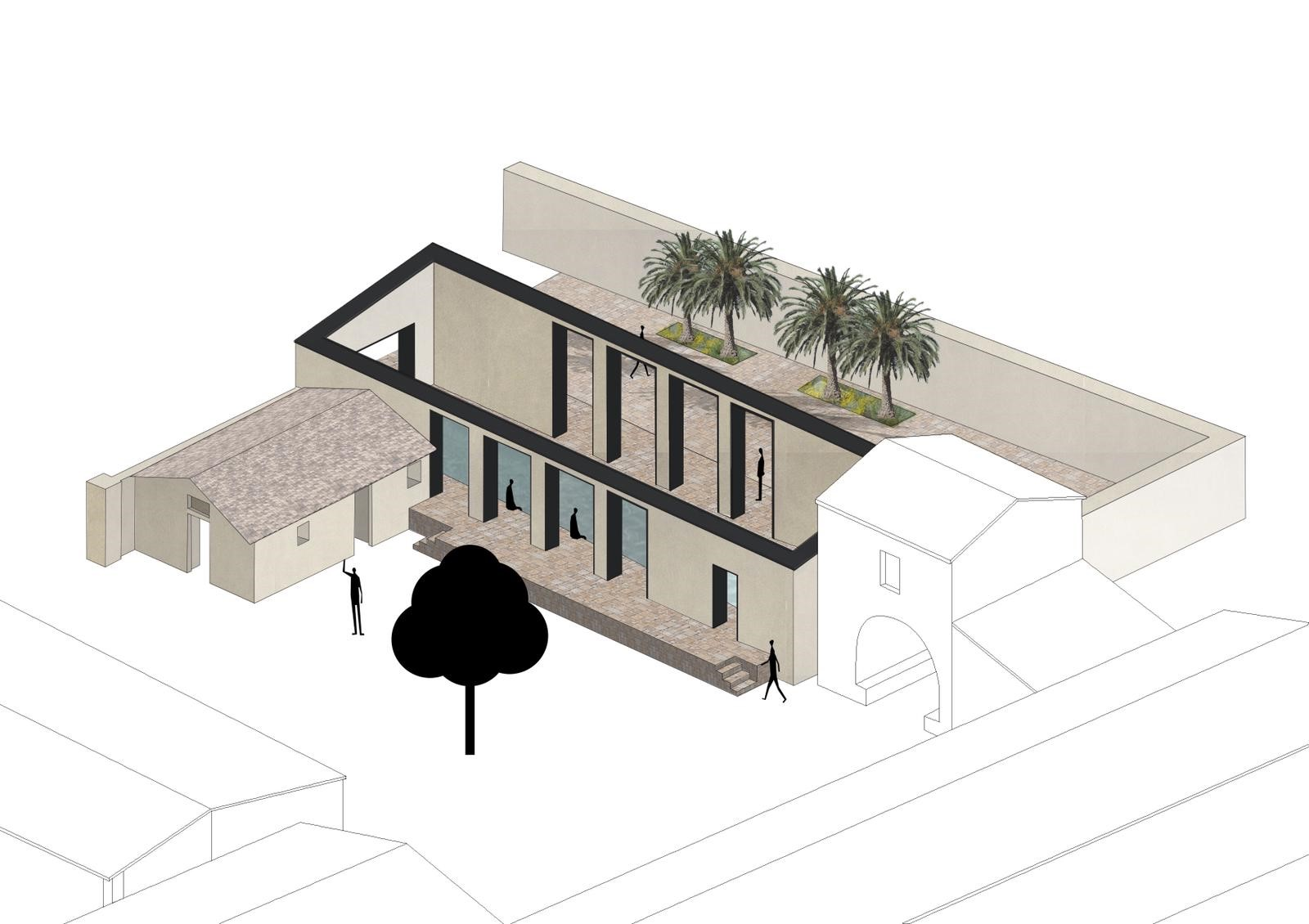 Concept Drawing @bevilacquaarchitects